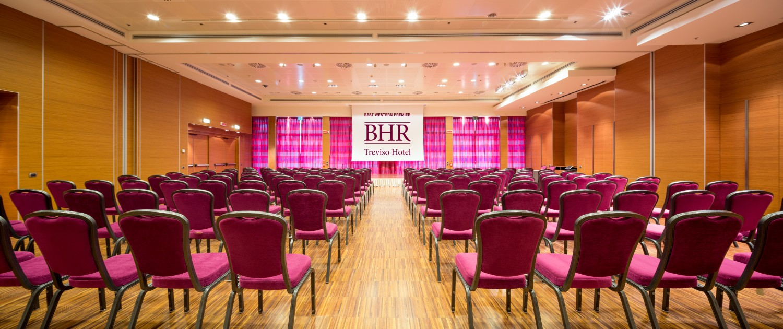 Le Sale Meeting del BHR Treviso Hotel