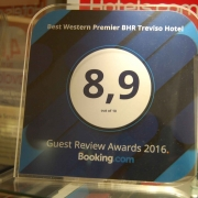 Guest Review Award - BHR Treviso Hotel