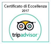 Certificate of Excellence 2017 - BHR Treviso Hotel