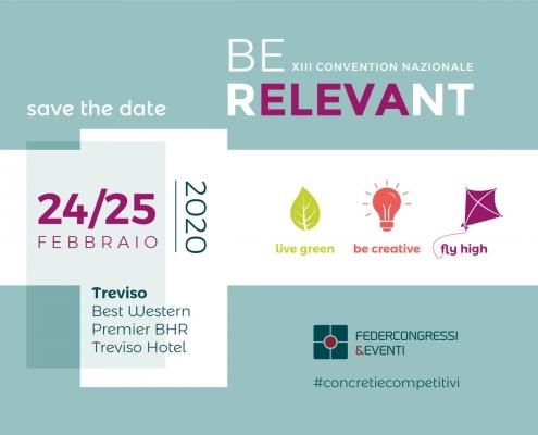 Be Relevant - Federcongressi&Eventi - BHR Treviso Hotel